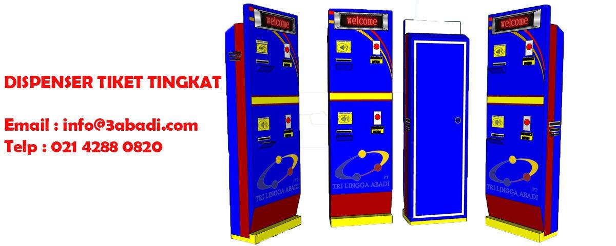 Dispenser Tiket Tingkat - Tri Lingga Aabadi
